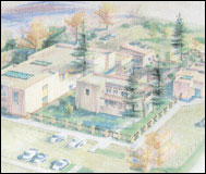sketch of taos art museum