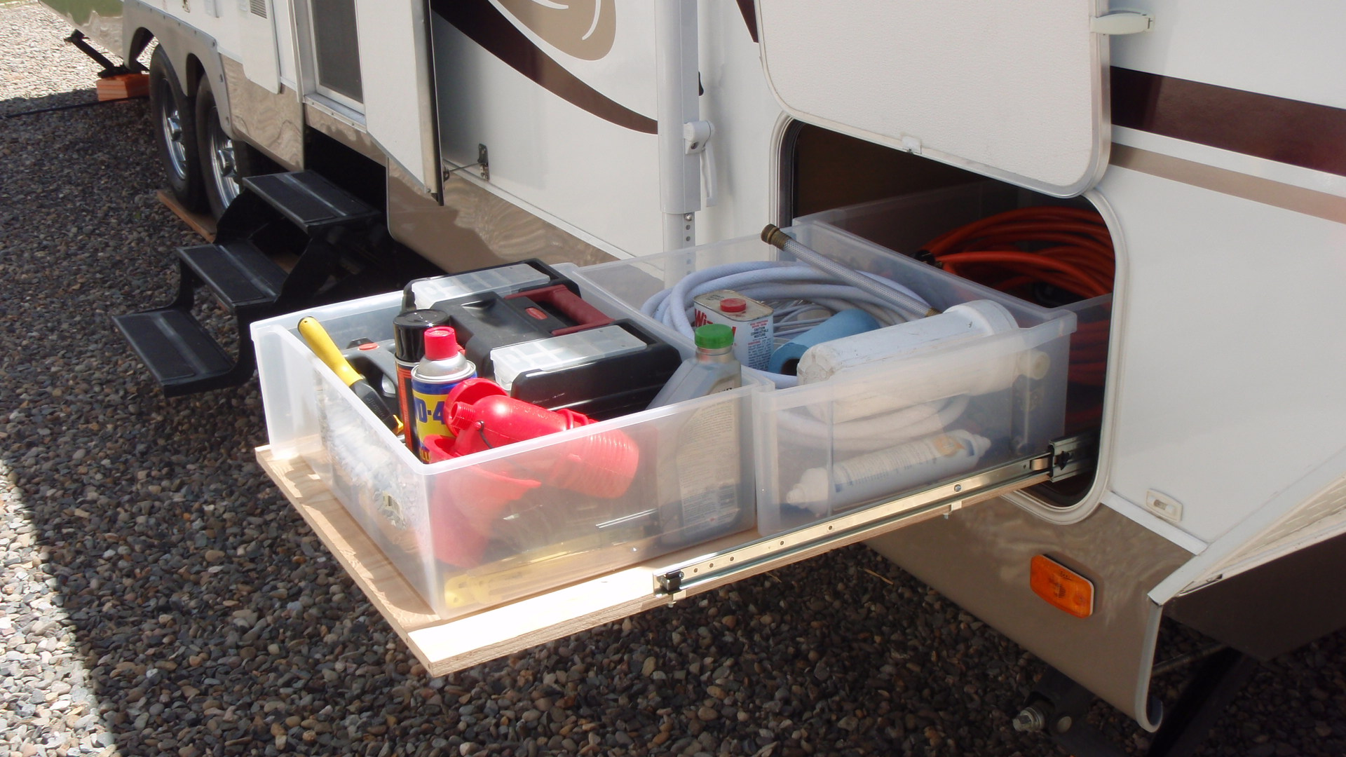 Rv Sliding Storage And Cargo Trays Good Sam Camping Blog
