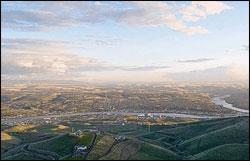 lewiston-idaho-aerial-view