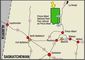 regional-map-of-prince-albert-national-park-within-saskatchewan