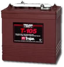 trojan t-105 battery
