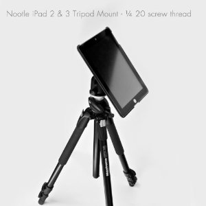 Yes, you can even mount your iPad onto a tripod!