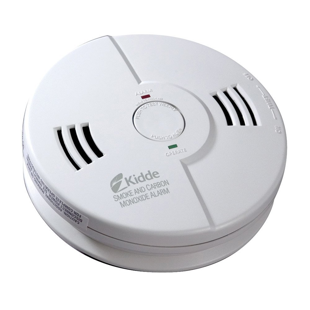 Smoke and carbon dioxide detector