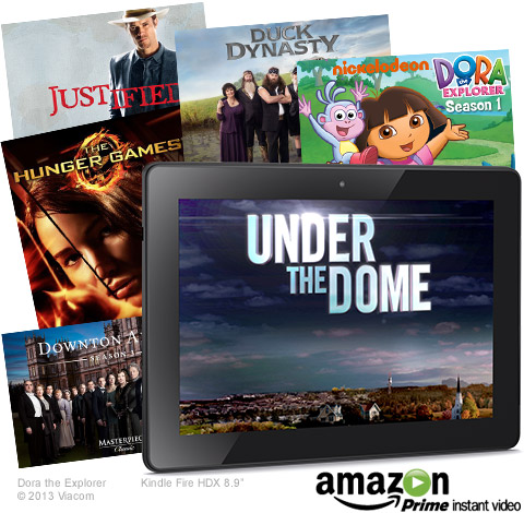 The get the most out of a Kindle Fire tablet, you need to join Amazon Prime. (Click the pic to enroll in a FREE 30-Day Trial.)