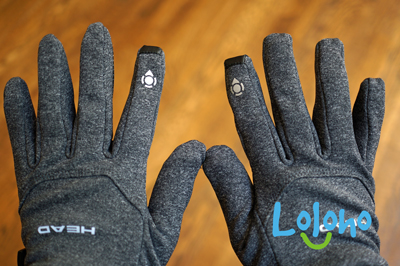 These gloves are warm but not too thick. They allow great flexibility and even work with smartphones and iPads! (CLICK THE PIC for more info.)