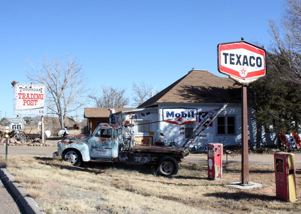 Just outside Tucumcari, N.M., are remnants of the prosperous days before I-40 shoved Route 66 aside.  If taking the old route is on your bucket list, be assured there is lots to see, including businesses restored and thriving.