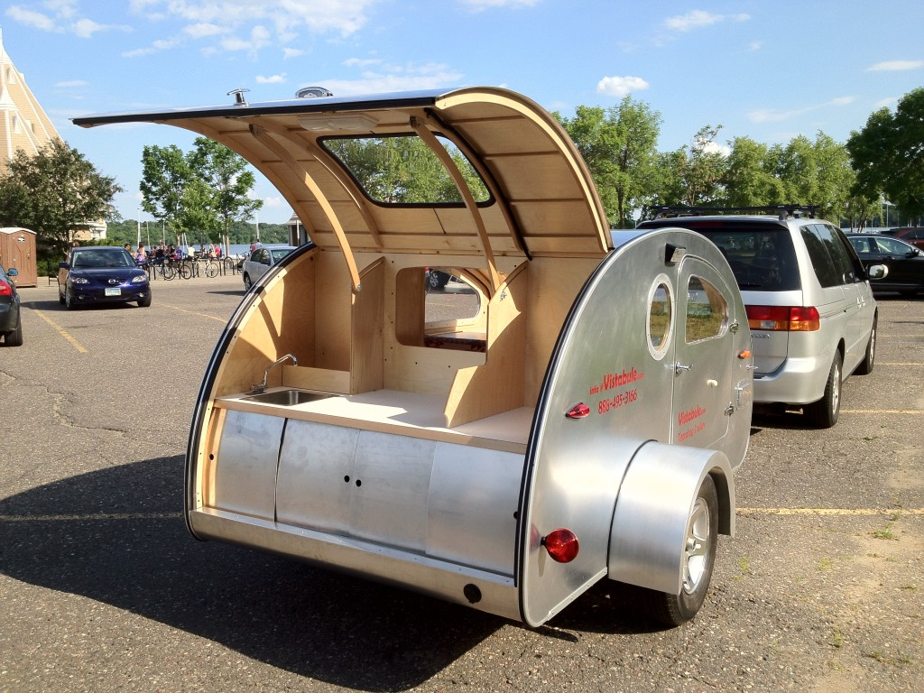 Vistabule Teardrop Trailer