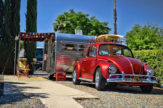 Vintage Trailer Resort >> Golden Village Palms Hosts Vintage Rv Trailer Show