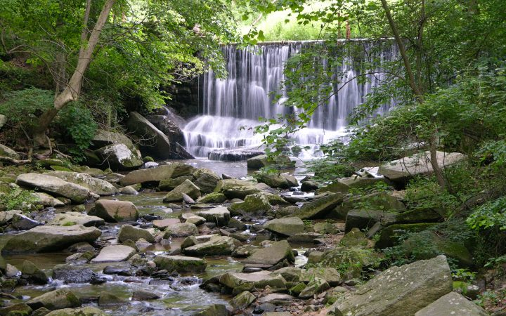 Susquehanna State Park waterfall