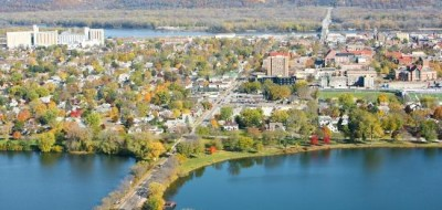 Winona Lake's East and West lakes