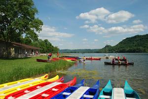 Rent a boat at Winona Lake