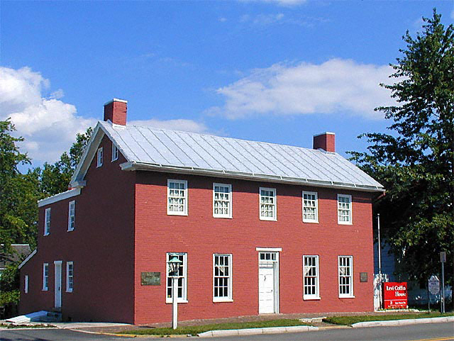 """Levi Coffin House, """"Grand Central Station"""" of the Underground Railroad"""
