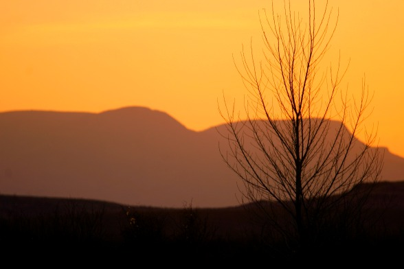 Big Bend Country sunset © Rex Vogel, all rights reserved