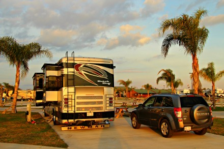 What are the key questions to ask when checking into an RV park? © Rex Vogel, all rights reserved
