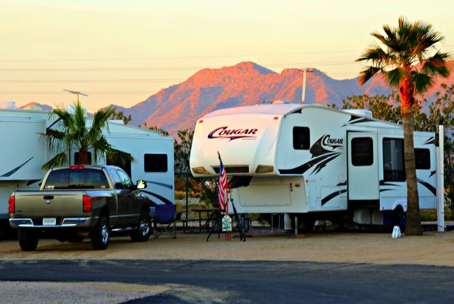 NEVER assume that everything is OK, do that safety check. Above Photo: Las Vegas RV Resort, Las Vegas, Nevada. © Rex Vogel, all rights reserved