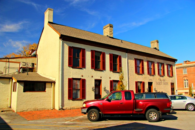 The Old Talbott Tavern had its share of famous guests over the years. © Rex Vogel, all rights reserved