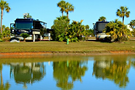 Bella Terra RV Resort on the Alabama Gulf Coast offers a variety of organized activities for snowbirds. © Rex Vogel, all rights reserved