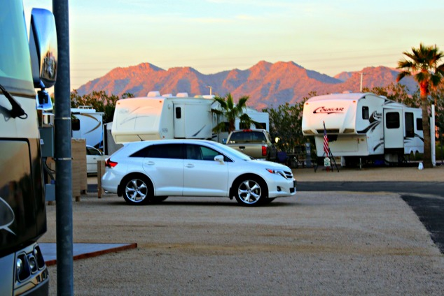 In addition to nearby shopping and outdoor activities, Leaf Verde RV Park in Buckeye, Arizona offers an array of activities for snowbirds. © Rex Vogel, all rights reserved