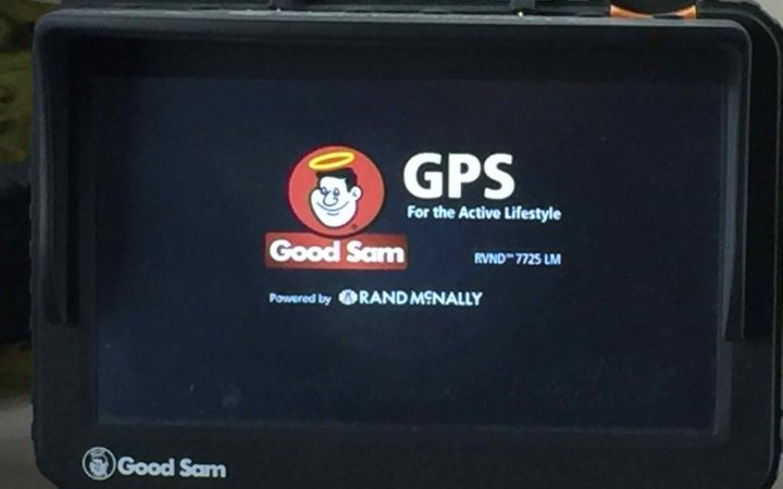 The Rand McNally Good Sam GPS Unit
