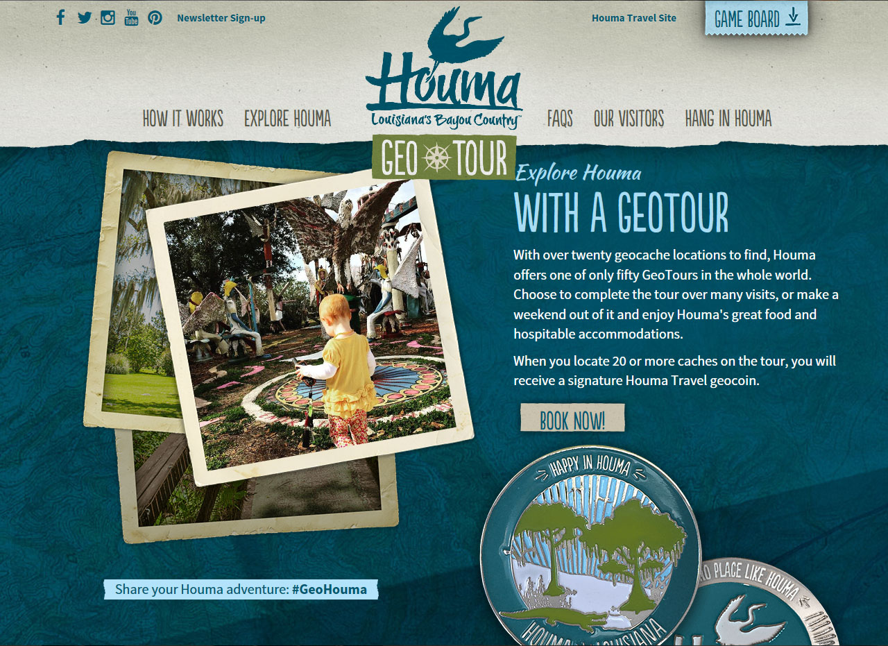 Houma GeoTour at Geocaching
