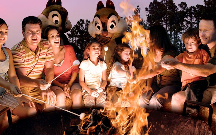 Disney's Fort Wilderness_810000368_ e Newsletter photo of campfire