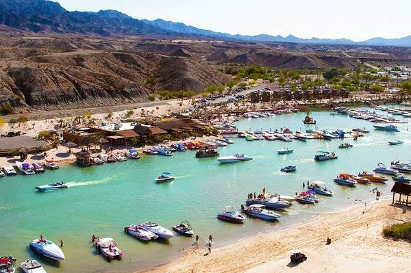 Marina on the Colorado River