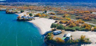RV sites on the Colorado River