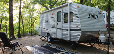 first travel trailer