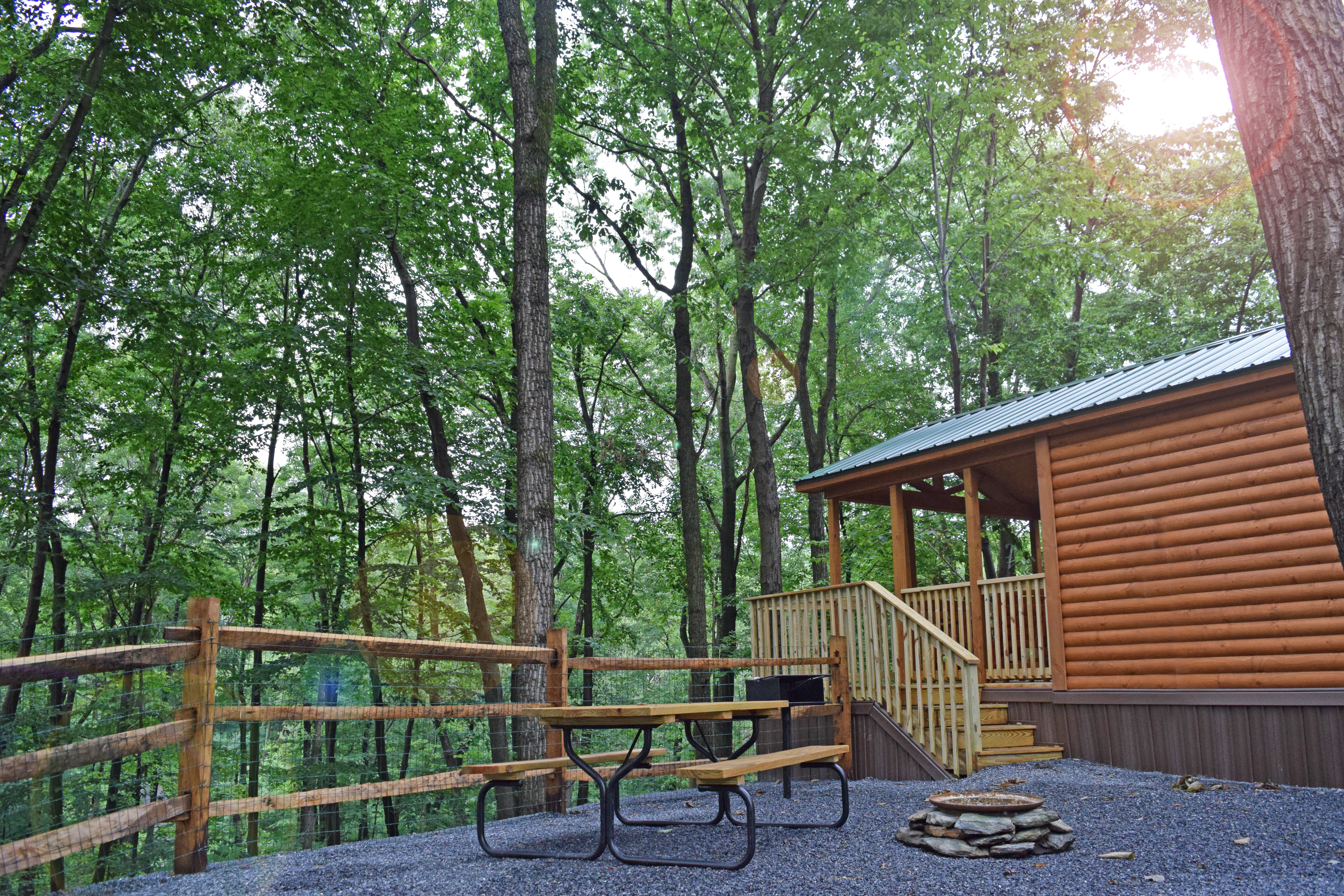 Cabins at Yogi Bear's Jellystone Park, Quarryville PA
