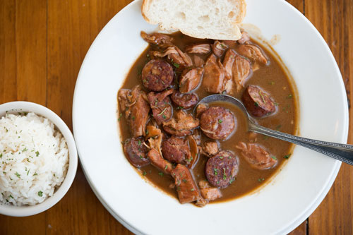 South Central States Bowl of Gumbo