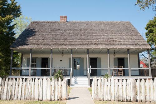 Lafayette, Louisiana - Historic Broussard House at Vermilionville Denny Culbert