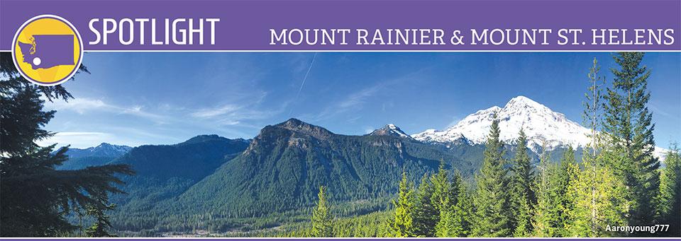Spotlight Mount Rainier Amp Mount St Helens Good Sam