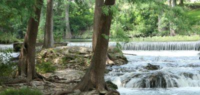Schumachers Crossing - shot of river