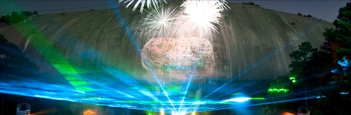 Stone Mountain Lasershow Spectacular in Mountainvision®