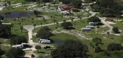 Big Cypress RV Resort & Campground aerial view