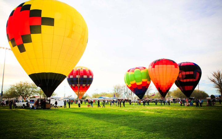 Hot air ballons - Pahrump, Nevada