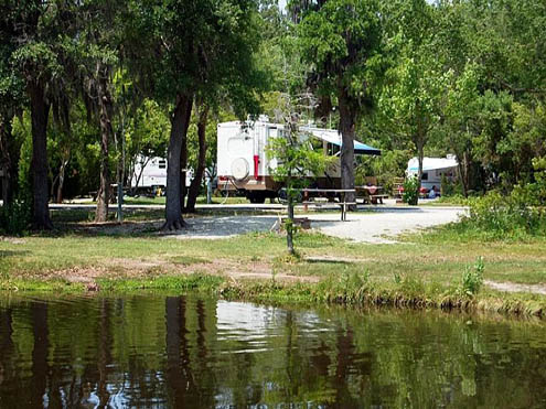 The Campground at James Island County Park