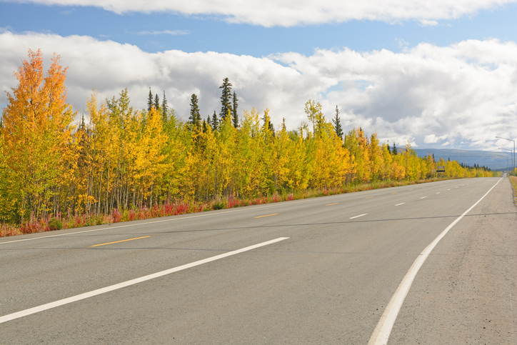 RV the Alaska Highway