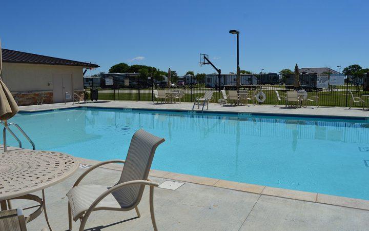 pool at WinStar Casino & RV Park
