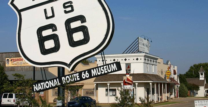 Route 66, Elk City, OK