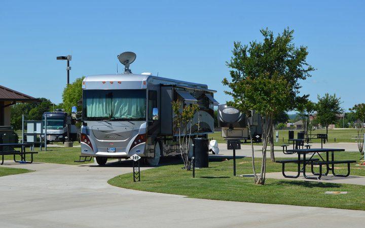 RV at WinStar Casino & RV Park