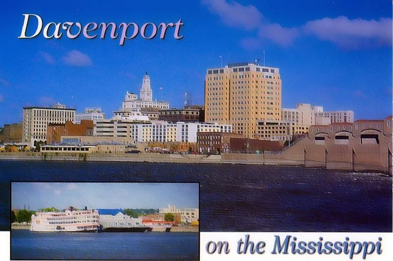 Davenport on the Mississippi