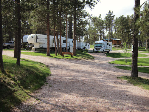 Springtime at Beaver Lake Campground