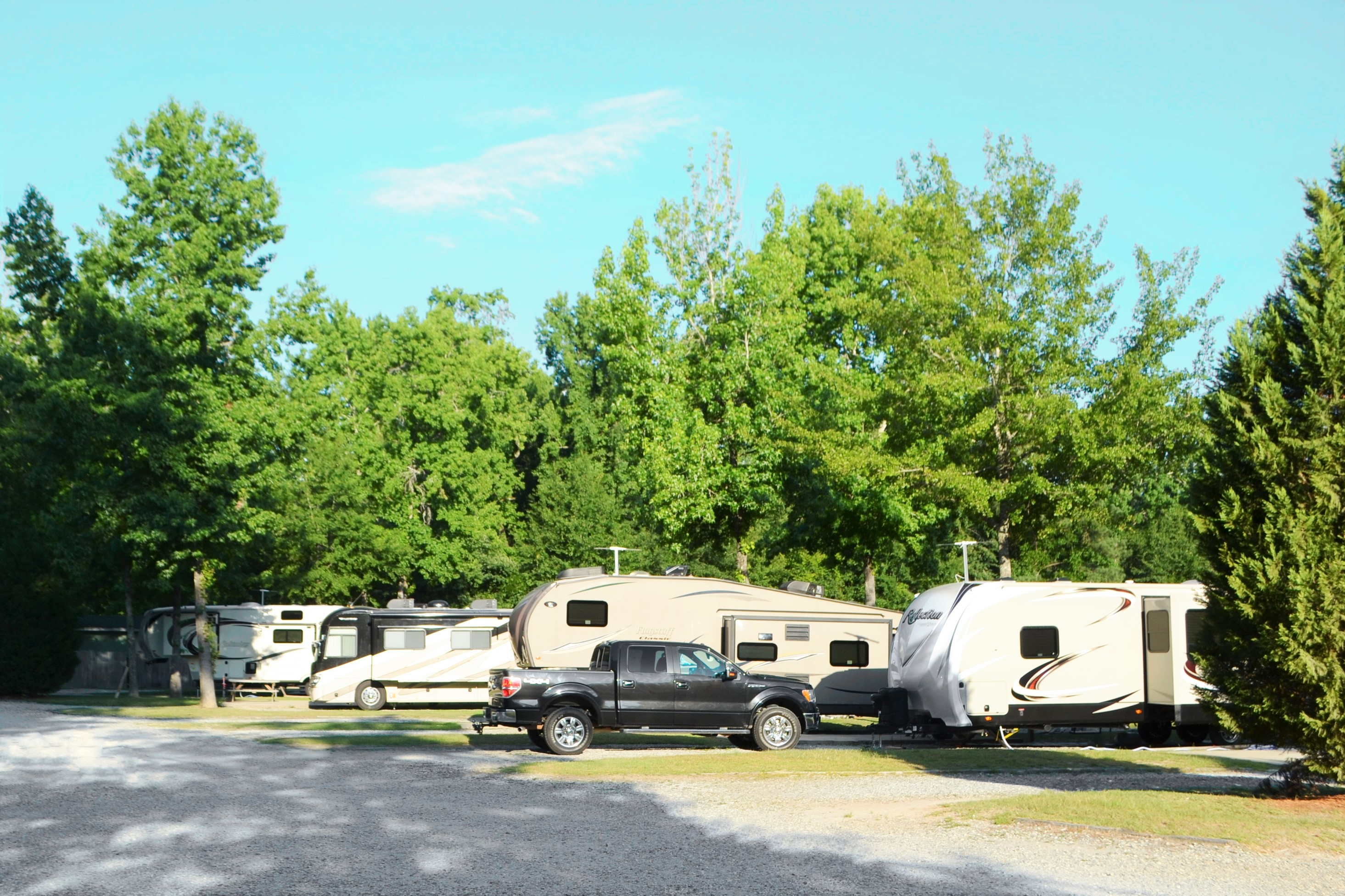Lake Pines Campground and RV Park - RV sites