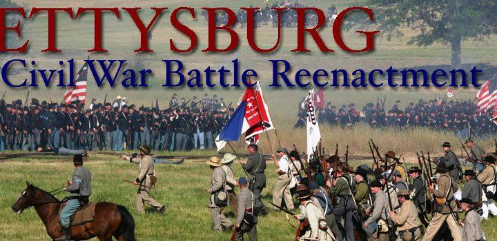 Gettysburg Campground Civil War Re-enactment