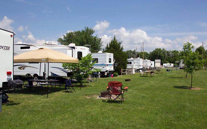 Gettysburg Campground - RV sites