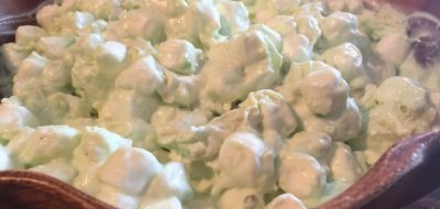 Pineapple Pistachio Marshmallow Salad