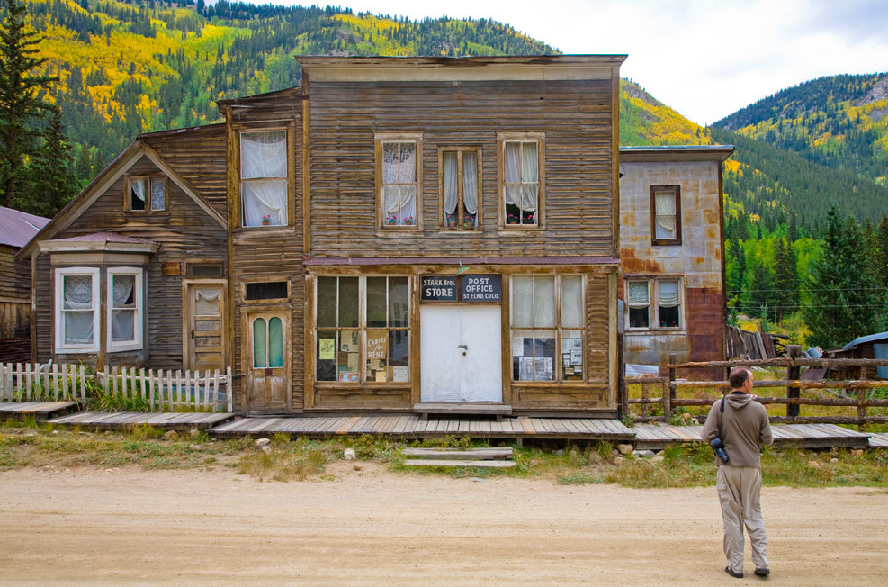 rv to colorado ghost towns