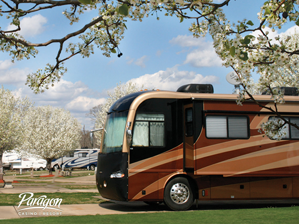 RV getaway at Paragon Casino RV resort