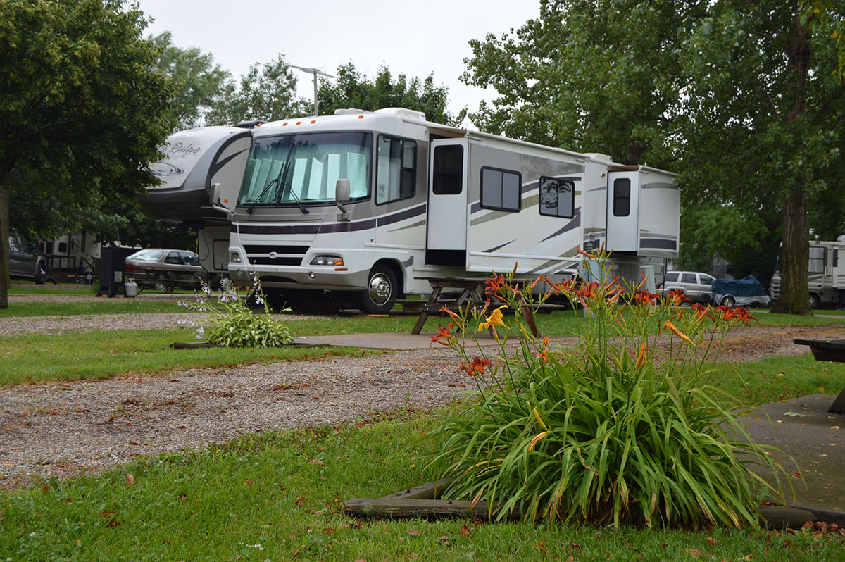Interstate RV Park, Davenport, IA